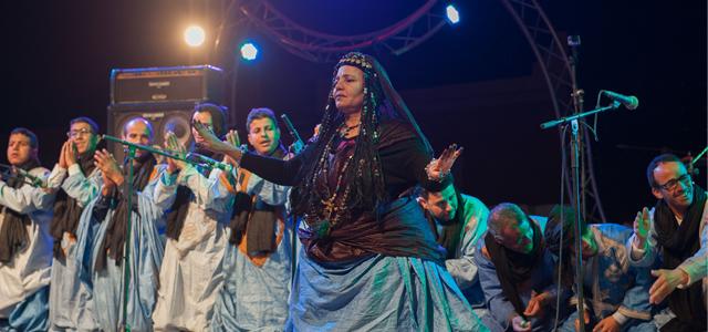 Danse Guedra Oued Noun